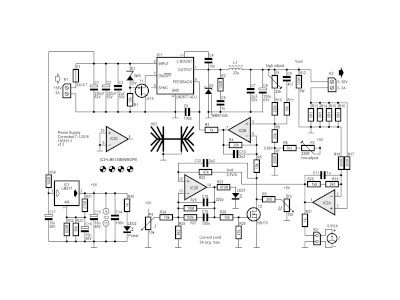Adjustable Switch-Mode Power Supply (SMPS), 30V/3A max