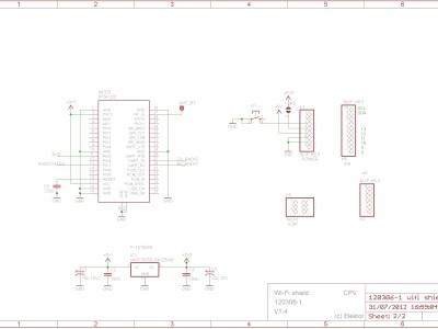 Wi-Fi / Bluetooth / USB shield for Arduino & Platino