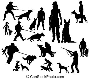 Police dogs Vector Clip Art EPS Images. 749 Police dogs