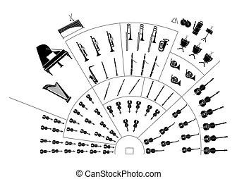 Orquestra Ilustrações e Clip Arte. 17.824 Orquestra