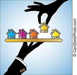 mortgage clipart and stock illustrations