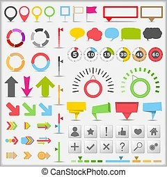 infographic clipart vector and