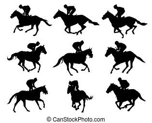 Horse racing Vector Clip Art Royalty Free. 5,508 Horse