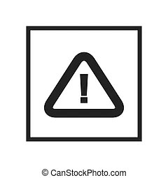Attention sign. Accident, advice, alarm, alert, attention
