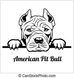 Pit bull Illustrations and Stock Art. 932 Pit bull
