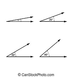 Angles geometry. Angles from geometry and mathematics