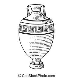 Amphora Vector Clipart Royalty Free. 2,842 Amphora clip