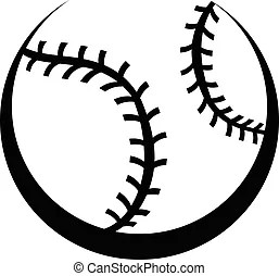Fast pitch softball pitcher vector . Vector illustration