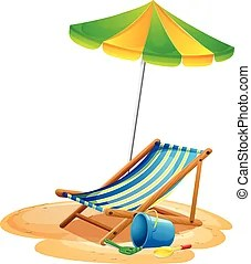 beach chair and umbrella clipart purple bubble illustrations 10 287 royalty illustration of a an