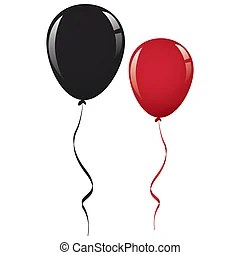 red balloon clip art and stock