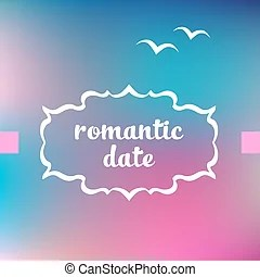 romantic date clipart and stock