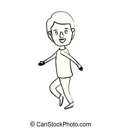 Full body Clipart Vector and Illustration. 9,710 Full body