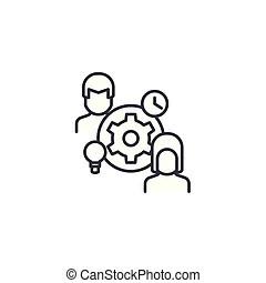 Team meeting 10 image. concept of teamwork, executive