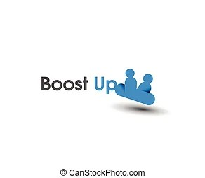 Boost logo with text.