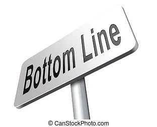 bottom line clip art and stock
