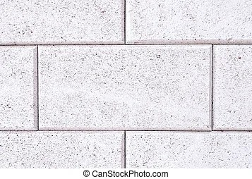 Grey brick stone exterior and interior decoration building