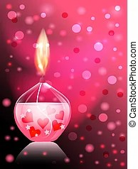 candle illustrations and clipart