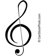 Treble clef Stock Illustrations. 9,851 Treble clef clip