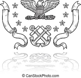 Us navy insignia Stock Photo Images. 88 Us navy insignia