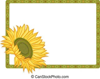 sunflower clipart vector graphics