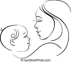 Mother baby Illustrations and Clipart. 23,868 Mother baby
