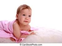 Neugeborenes baby badewanne Stock Foto Bilder. 628 ...
