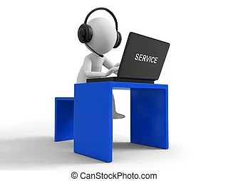 receptionist clipart and stock