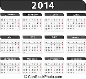 January 2014 Clip Art Vector Graphics. 1,938 January 2014