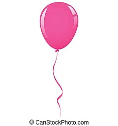 pink balloon illustrations