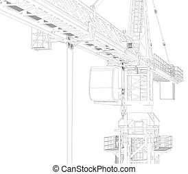 Tower crane Illustrations and Clipart. 5,151 Tower crane