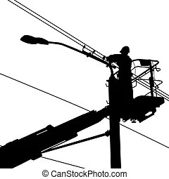 Utility pole Illustrations and Clipart. 132 Utility pole