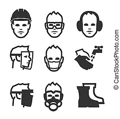 Safety glasses Clipart and Stock Illustrations. 8,860