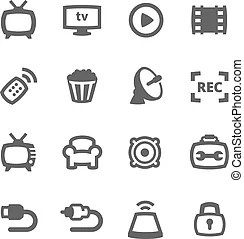 Cable television Clipart and Stock Illustrations. 1,878
