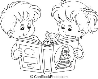Reading aloud Illustrations and Stock Art. 36 Reading