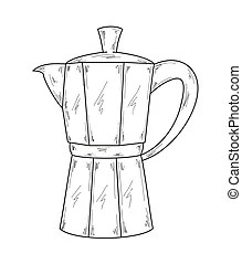Coffee maker Clipart Vector Graphics. 5,354 Coffee maker