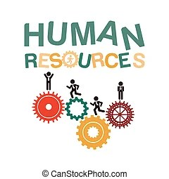human resources over background