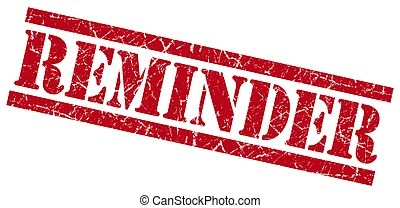reminder clipart and stock illustrations