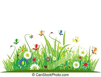 meadow illustrations and clip art