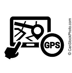 Gps icon Vector Clipart EPS Images. 21,018 Gps icon clip