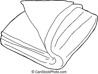 Bedding out Vector Clip Art Royalty Free. 6 Bedding out