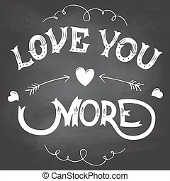 Download Love you more Clipart Vector and Illustration. 125 Love ...