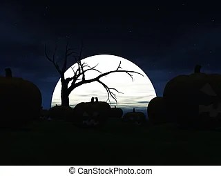 spooky illustrations and clipart