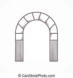 Stone Arch Clip Art