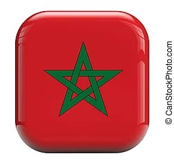 morocco flag clipart and stock
