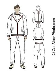 Hoodie Illustrations and Clipart. 1,049 Hoodie royalty