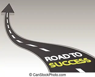 road success background vector