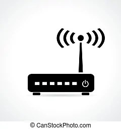 Wi fi access point wifi icon Clip Art Vector and