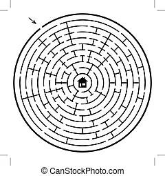 Art et Illustrations de Labyrinthe. 12 291 graphiques