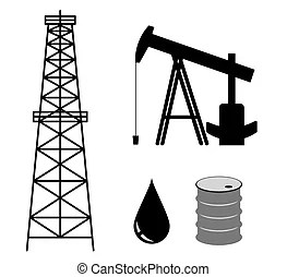 Oil derrick Clipart and Stock Illustrations. 2,068 Oil