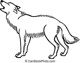 Howling Vector Clipart Illustrations. 789 Howling clip art